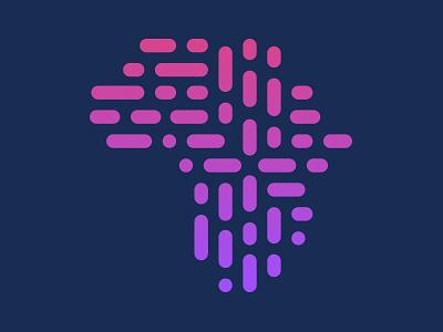 Tech Source Africa Logo startup dark tech logo design logo africa