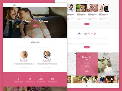 Unify Wedding Theme responsive wedding bootstrap unify template