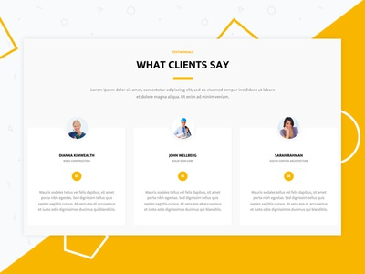 htmlstream projects testimonials dribbble
