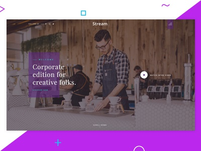 WIP Freebies - Stream by Htmlstream bootstrap startups business promo agency corporate htmlstream stream freebies