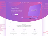Pixeel Home Page