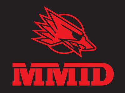 MMI Defense | Work in Progress typography eagle branding logo design guns defense
