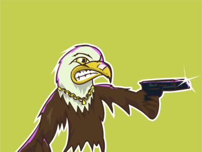 eagle character eagle character design avatar vector srilanka illustration comic