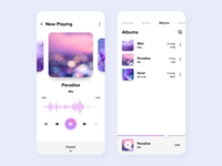 Daily UI #009 - Music Player App