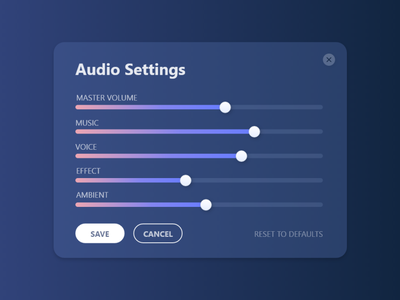 Daily UI #007 - Settings app ui design illustration vector 007 daily ui