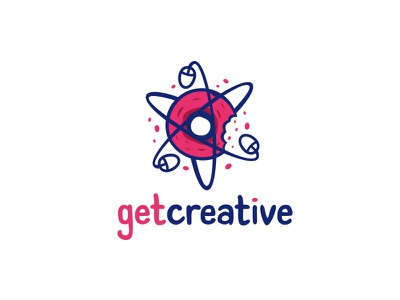 Get creative mouse donut coworking cowork atom