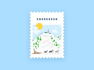 Sheregesh snow vacation active haski siberia mountains snowboarding snowboard ski
