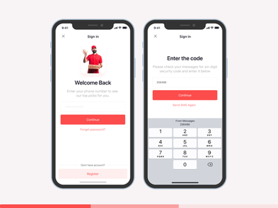 Alan Pizza | Sign in Form ux web design ui design uiux figma ui pizza logo register login logi sign in app design app pizza
