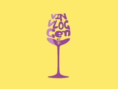 The Wine Vlog wine vlog blog glass drink 2d flat