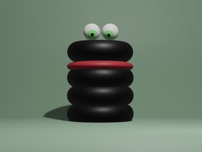 Snake? artwork blender 3d blender3dart 3d blender3d 3d art