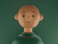 3D Portrait characterdesign 3dmodel 3dmodeling blendercycles blender3d 3d art portrait art
