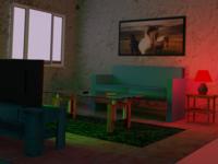 Tiny Room 3D Art tinyhouse isometric art isometric design interior 3d modeling 3d art 3d artist blendercycles blender 3d blender