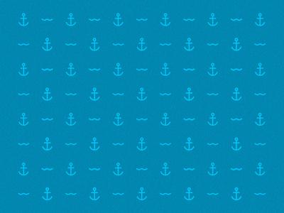 anchor and wave pattern wave anchor sea pattern blue onda mar âncora padrão azul