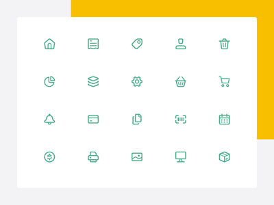 WIP – E-commerce Icons store icones smart ecommerce icons