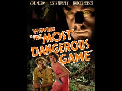 The Most Dangerous Game photo manipulation photomanipulation design mst3k rifftrax
