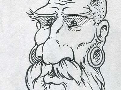 Inktober Hipster daily doodle dailydoodle hipster inktober drawing sketch illustration