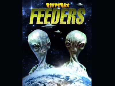 Feeders for RiffTrax aliens alien mst3k digital painting rifftrax illustration