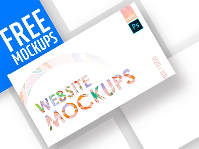 FREE High Quality Web Mockup Pack
