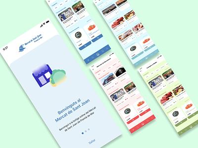 Mercats app ux design
