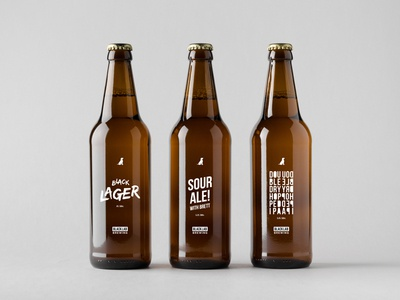 Black Lab Brewing Label Concepts