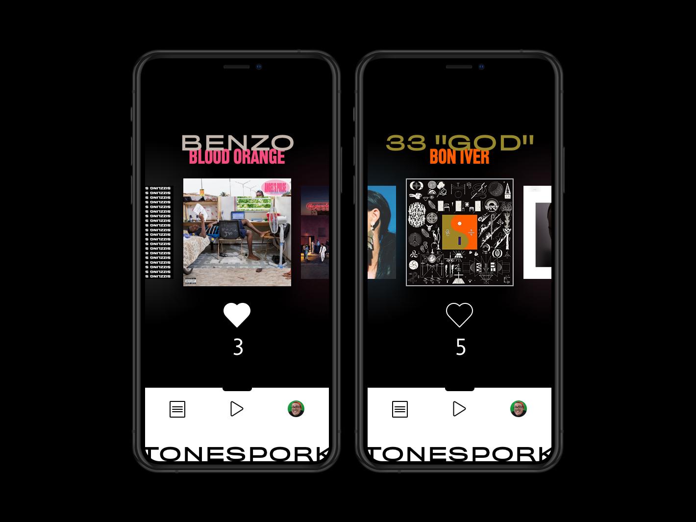 TONESPORK Brand Book - App app design application type ux spotify design music app branding typography brand userexperience musicapp uidesign ui  ux ui app