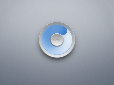 Simple Browser Rebound musical offering ui icon smartisan os browser 3d rebound gradient loading spinner clean web