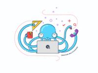 Creative Octopus