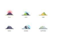 Japanese Mountains