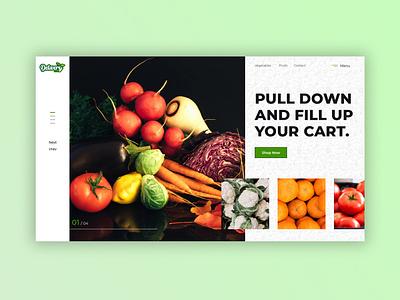 Online Grocery Store Web Design for Delivery Dine webapp design uiux webapp webdesign graphic design website anzy designs ui kasargod design logodesign anzydesigns branding