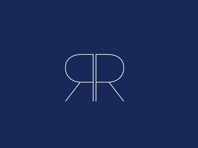 RR Logo logodesign logotype logo anzy rrlogo rlogo