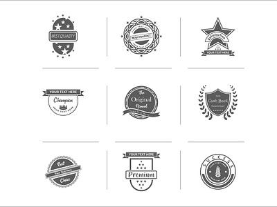 Vector Badges Design graphic design vector badges design