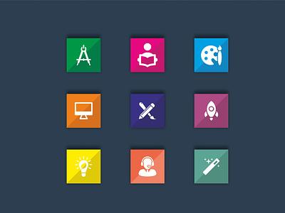 Education Icon Design graphic design education icon design