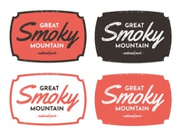 Exploration - Smoky Mountain National Park Badge