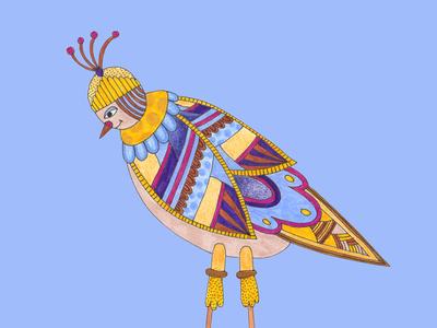 Low fi Bird 2