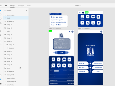 Behind The Bca Mobile App Re Design By Christian Imanuel Toisuta On Dribbble