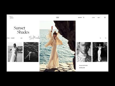 Catalog - Tender store catalog promo online shop logo shop branding fashion clean grid typography ui ux web