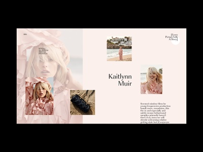 Portfolio - every story magazine clean promo portfolio agency blog branding fashion typography ux ui web