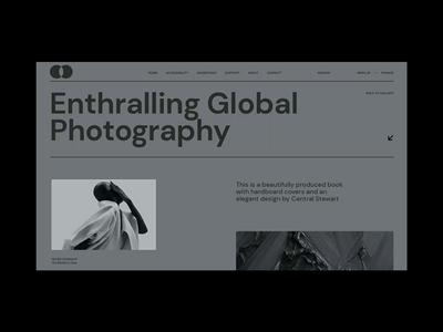 Exhibitions website portfolio minimal branding grid clean artgallery gallery website ux ui web animation