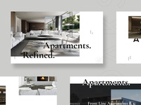 Apartments page