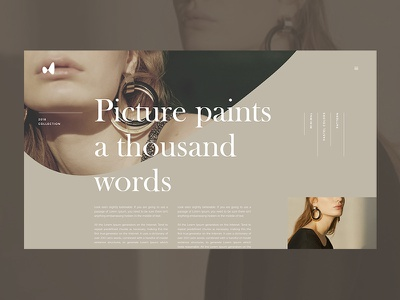 Brûler article fashion article interface design interface blog grid clean typography ui ux web