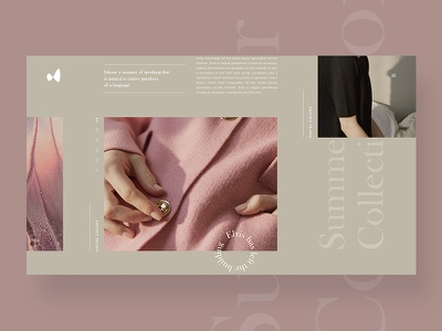 Brûler article interace freelance interface design fashion style guide photoshop magazine blog typography clean ui ux web