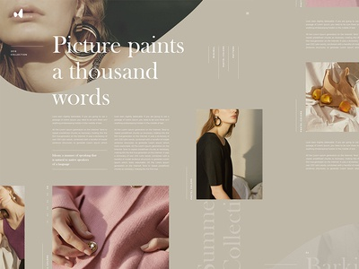 Article page ui design news article page article branding magazine design blog fashion logo calligraphy grid typography ui ux web