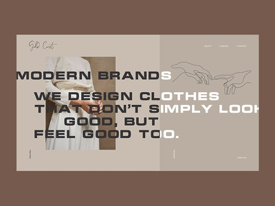 Brand store logo grid clothing brand clothes fashion brand store shop branding photo fashion clean typography ux ui web