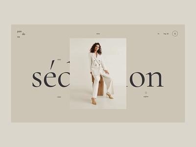 Shop logo branding online shop shop store fashion grid clean typography ux ui web