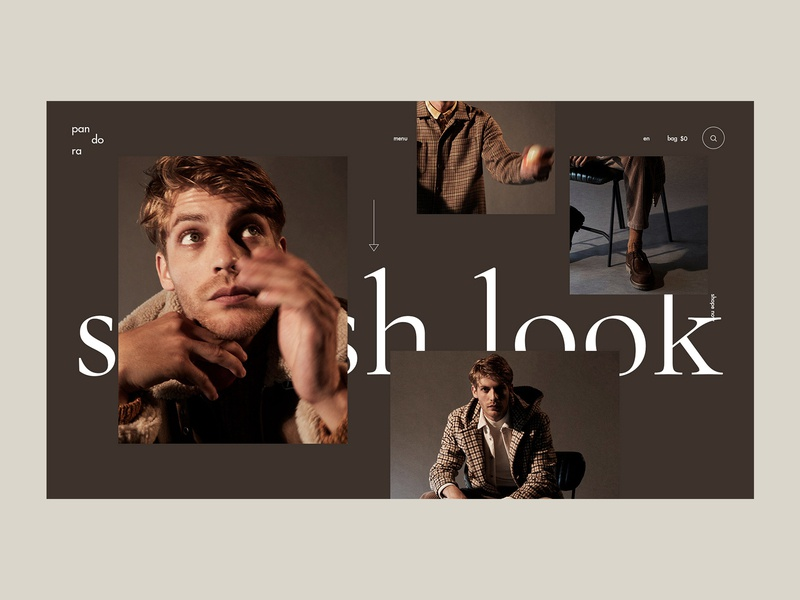 Shop. Lookbook webdesign lookbook template lookbook shop store design fashion grid clean typography ui ux web