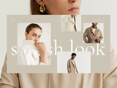 LookBook. Store animation fashion store lookbook clothes online shop shop branding store fashion clean grid typography ux ui web
