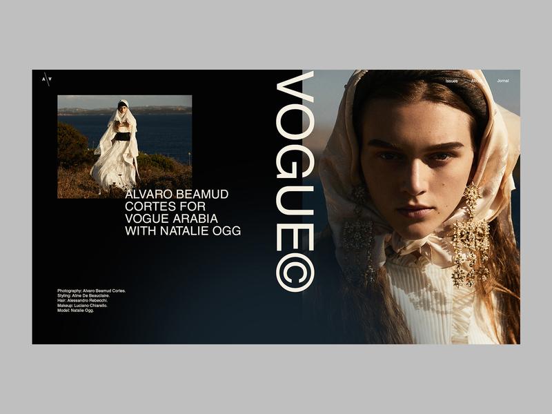 Fashion Editor - magazine lookbook issue magazine ad magazine branding blog logo fashion clean grid typography ux ui web