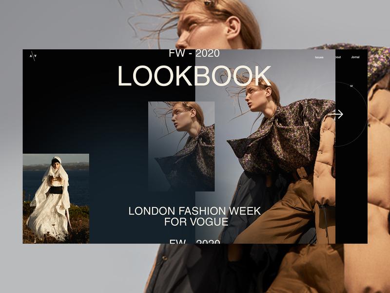 Fashion Editor - magazine clothes shop clothes magazine lookbook branding logo fashion grid clean typography ux ui web