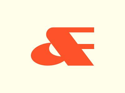 D + F logo ui vector illustration logo design identity icon minimal design branding logo mini