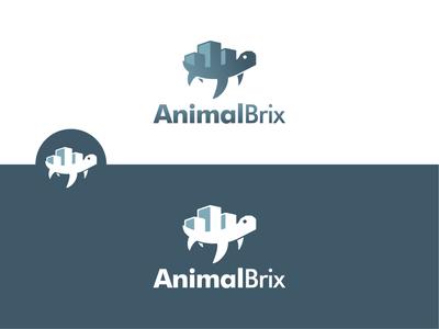 AnimalBrix logo design